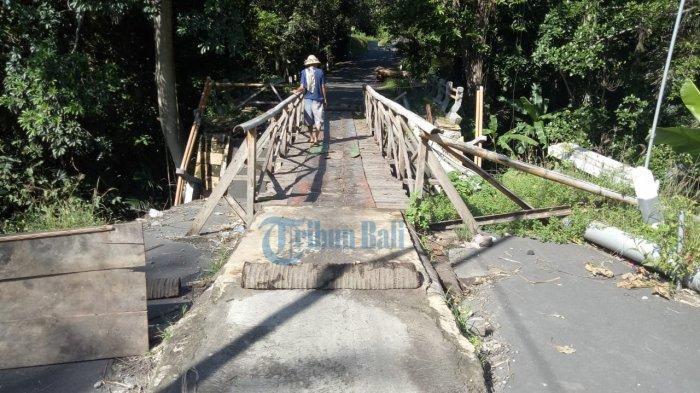 Empat Jembatan di Karangasem Akan Diperbaiki Awal Tahun 2021