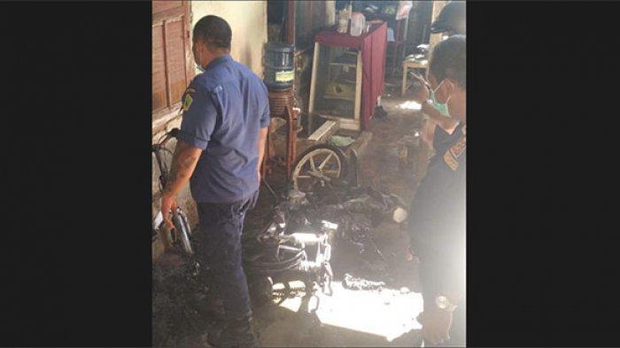 Ketut Catur Panik, Tiba-tiba Motor dan Sepeda Gayungnya Terbakar, Soal Penyebab Masih Diselidiki