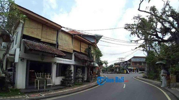 Bukan Hanya Hotel, Art Shop di Ubud Juga Masih Tutup