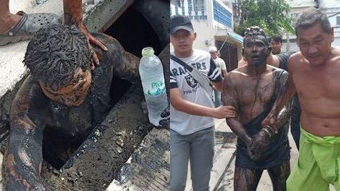 Pilih Kabur & Bersembunyi 24 Jam di Selokan dari Razia Polisi, Pria Ini Akui Baunya Sangat Busuk