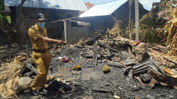 Nengah Sudira Berharap Ada Uluran Tangan Donatur, Rumah Ludes Terbakar, Istri Alami Gangguan Jiwa