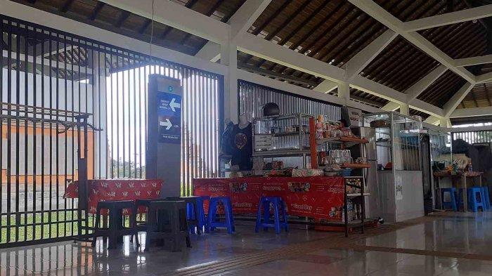 Larangan Mudik 2021, 4 Kantin Terminal Mengwi Badung Hanya Layani Pembeli dari Petugas di Terminal