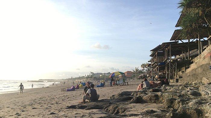 Begini Kondisi Pantai Batu Bolong Badung Menjelang Dibukanya Penerbangan Internasional ke Bali