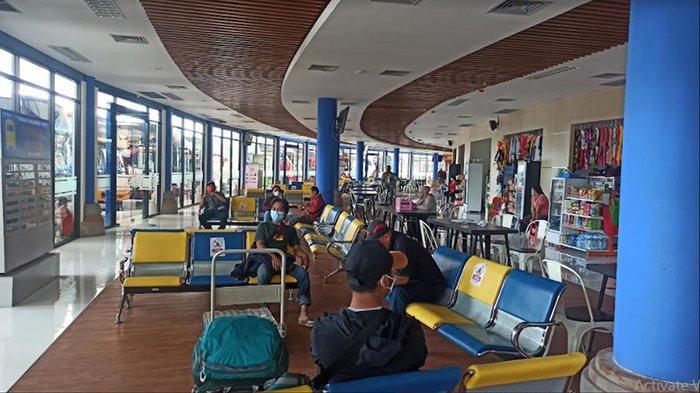 Saat Penerapan PPKM, PO Bus di Terminal Mengwi Akui Penumpang Turun Hingga 50 Persen