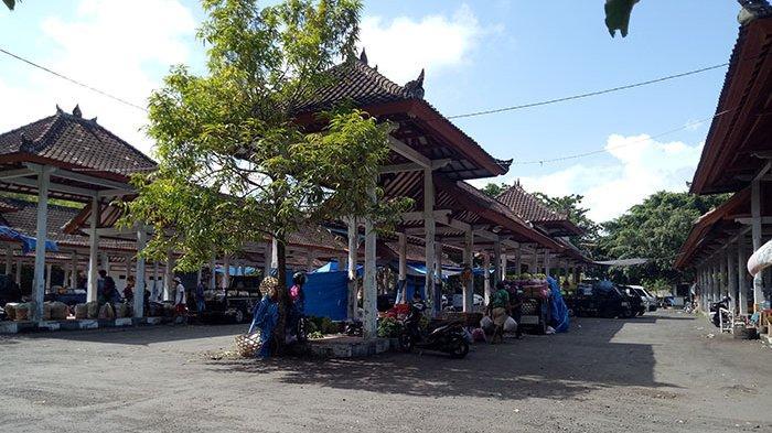 Angkutan Sepi, Terminal Subagan di Karangasem Beralih Fungsi Jadi Pasar Sayur dan Buah-buahan