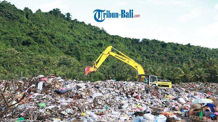 Overload, TPA Sente Klungkung Tampung 6 Truk Sampah Sehari, DLH Butuh Mesin Pengolah Residu
