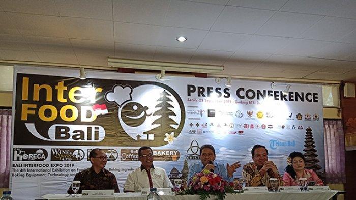 Bali Interfood 2019 Perkiraan Nilai Transaksi Capai Rp 100 Miliar dengan Target 13 Ribu Pengunjung