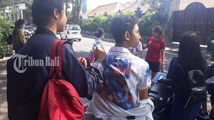 Imbauan Polresta Denpasar Tak Diindahkan, Konvoi Momen Kelulusan SMP Ditindak