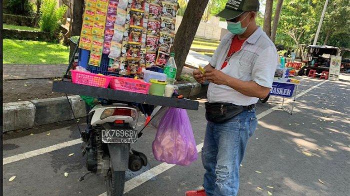 Terdampak Pandemi, Kini Ada 72 Pedagang Jalanan di Kawasan Jalan Puputan Renon Denpasar