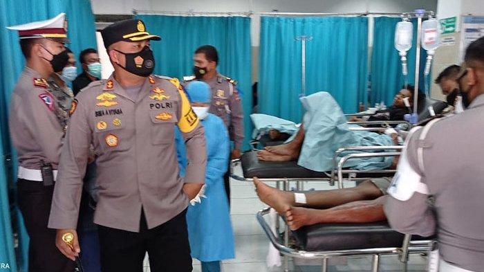Alami Cedera Parah, Seorang Korban Mobil Terjun ke Tukad Jinah Dirujuk ke RSUP Sanglah