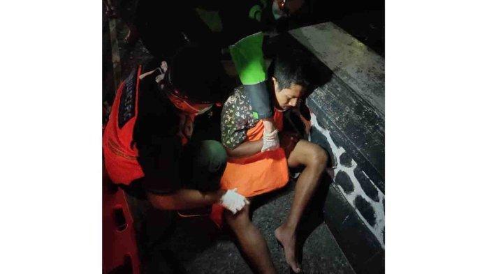 Pengaruh Miras, 3 Pemuda Terlibat Lakalantas di Denpasar, Imron Alami Patah Tulang Paha