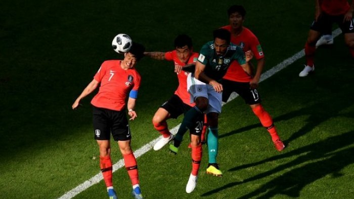 Kutukan Berlanjut! Jerman Harus Pulang Usai Dipecundangi Korea Selatan 2-0 di Piala Dunia 2018