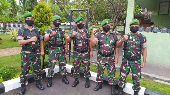 Antisipasi Sebaran Covid-19, Danrem Wajibkan Semua Personel Pakai Masker saat Beraktivitas