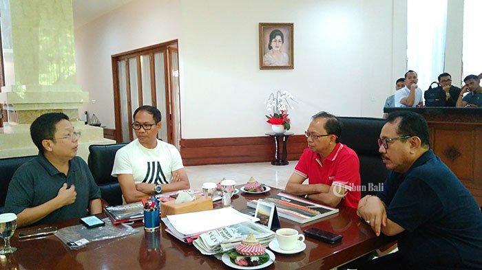 Bertemu Manajemen Bali United, Gubernur Koster dan Wagub Cok Ace Singgung Soal Sport Tourism