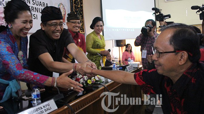 Pleno KPU Bali Diwarnai Hujan Interupsi, Koster Ace Sapu Bersih 6 Kabupaten/Kota