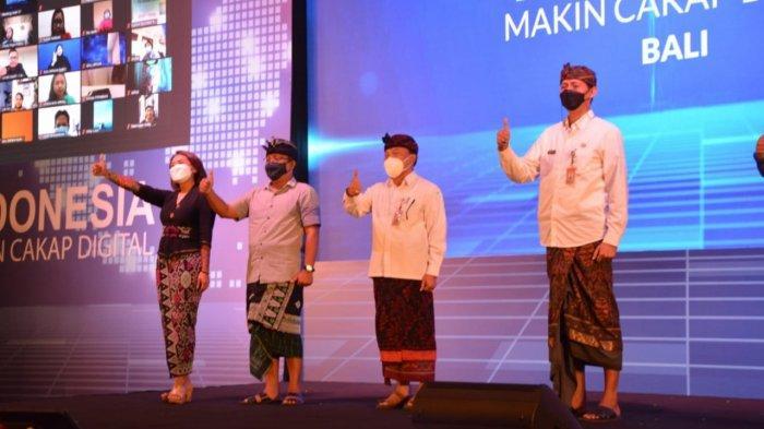 Berlangsung Secara Hybrid, Kemen Kominfo Jadikan Kota Denpasar Peluncuran Literasi Digital Nasional