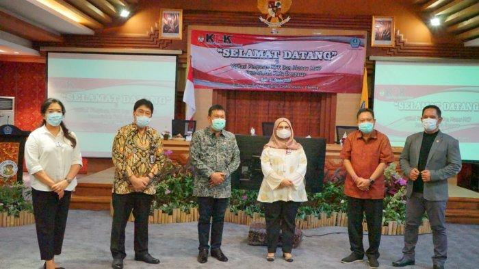 KPK RI Laksanakan Visitasi dan Monev MCP di Pemkot Denpasar