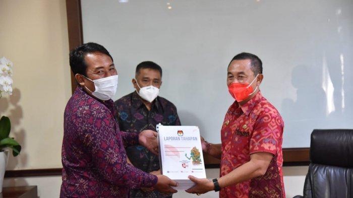 Pemilihan Bupati dan Wakil Bupati Telah Usai, KPUD Karangasem serahkan Laporan Tahapan