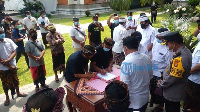 Persoalan Tanah Dominasi Permasalahan Adat di Gianyar Bali Selama Tahun 2020