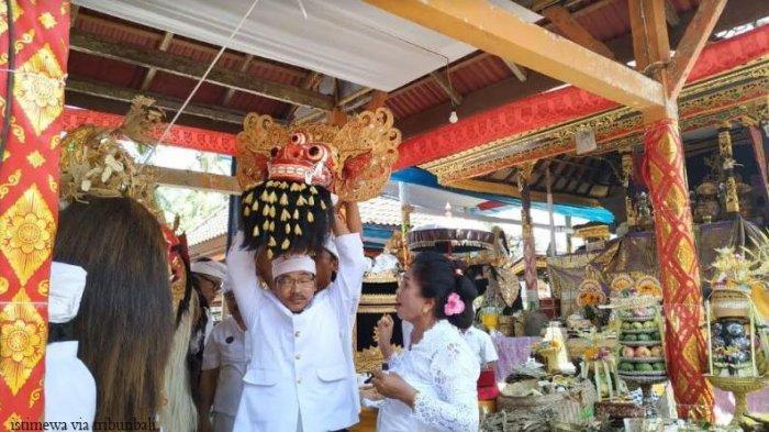 Barong Mata Tiga Dipercaya Penguasa Kekuatan Niskala Bangli Selatan