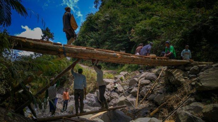 Pengerjaan Tiga Jembatan Rusak di Karangasem Sudah Dimulai