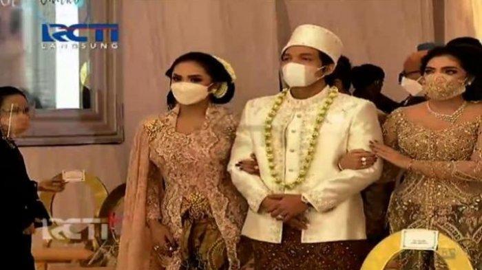 PERNIKAHAN Atta Halilintar dan Aurel, Dihadiri Jokowi hingga Kalung Melati Ashanty dan Krisdayanti