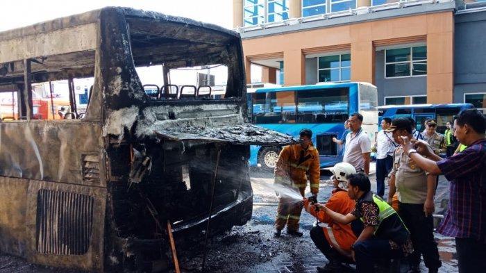 Kronologis Lengkap Bus Gapura Angkasa Terbakar di Bandara Ngurah Rai