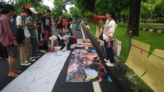 Peringati Hari Perempuan Internasional, Koalisi Rakyat Bali Adil Gender Tolak RUU Omnibus Law