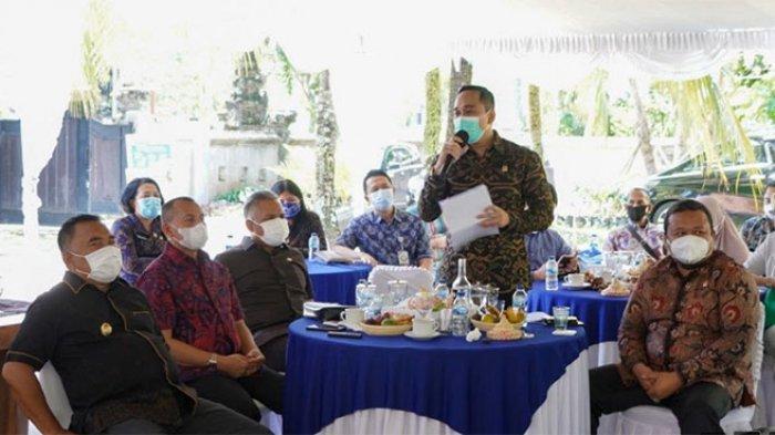 BKSAP DPR RI Kunjungan Kerja ke Jembrana, Putu Supadma Salurkan 1.000 Vaksin dan 10 Ton Beras