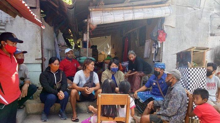 Kisah 3 Anak Bersaudara Hidup di Rumah Bedeng Beratap Triplek di Denpasar, Ibu Pergi Tanpa Pamit