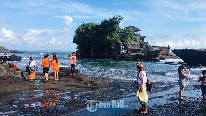 Wisatawan Terbentur Aturan Pemerintah, Tanah Lot Hanya Dikunjungi 1.081 Orang dalam Empat Hari