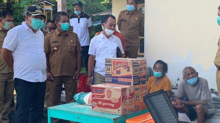Rumah Kebakaran Pekan Lalu di Jembrana Bali, Dadong Ranti Dapat Bantuan