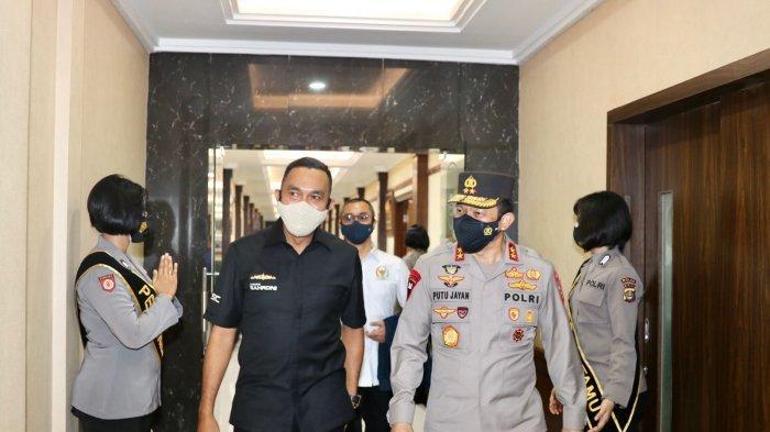 Komisi III DPR RI Sambangi Polda Bali, Bahas Gakkum, Covid-19 hingga PEN