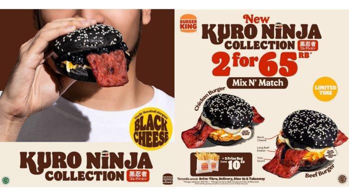 Jangan Terlewat! Promo Burger King Hari Ini 27 September 2021, Kuro Ninja Collection Rp 35.000