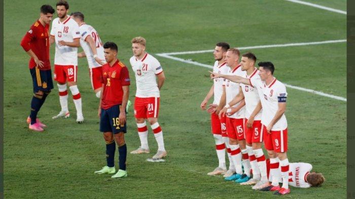 EURO 2020 Grup E: Imbang Lagi, Spanyol Tertahan di Posisi ke 3, Polandia Raih Poin Pertama