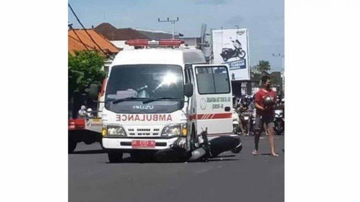 Dua Remaja Terlibat Lakalantas Dengan Ambulance Di Tabanan Bali, Tak Ada Korban Jiwa