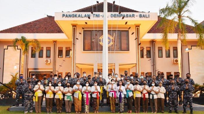 Rayakan HUT ke-76 TNI AL, Lanal Denpasar Fokuskan Giat Kerohanian