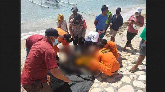 Jenazah Ni Ketut Dehik Ditemukan Mengapung di Pesisir Pantai Wilayah Nusa Penida Bali