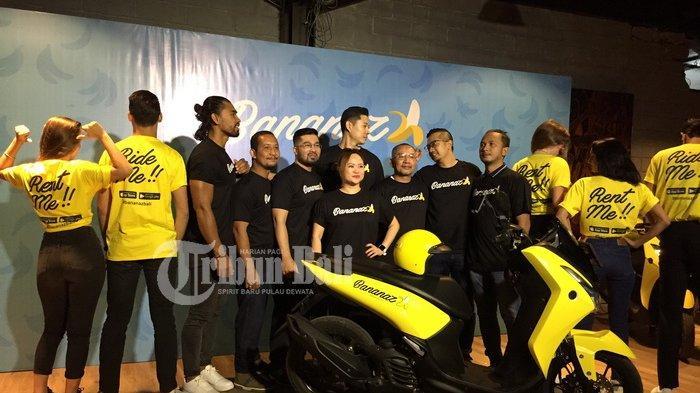 Bananaz.co, Aplikasi Rental Motor Pertama di Bali Diresmikan