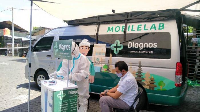 Wah! Sudah Hadir Layanan Mobile Lab Diagnos di Bali, Bantu Percepat Tes Covid-19