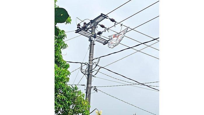 Listrik di Saba Padam Akibat Layangan, PLN Akan Buat Berita Acara denganPerangkat Desa