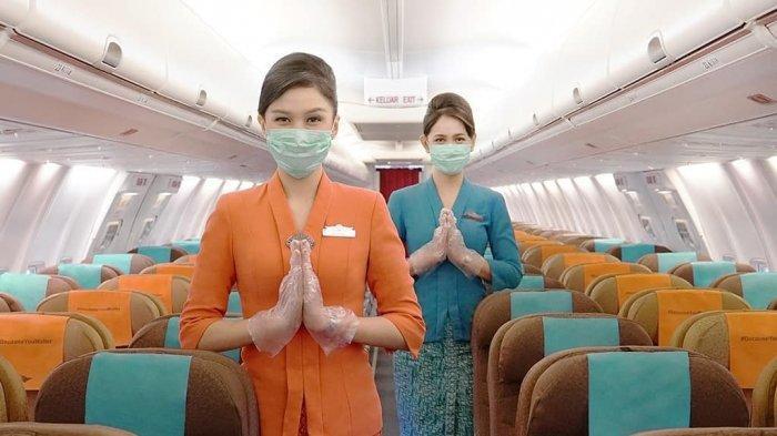 Garuda Indonesia Group Layani Penerbangan dengan Pilot dan Pramugari Telah Divaksin Covid -19