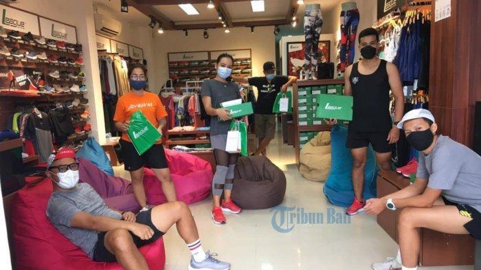 Bertajuk Friday Morning Run, League Gandeng Komunitas Bali Lari 5 Kilometer