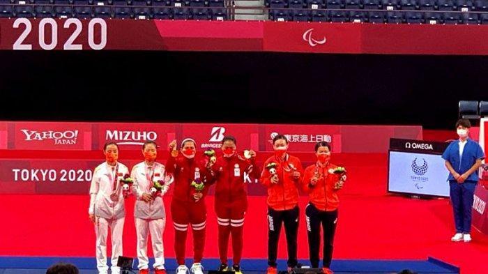 Leani Ratri Raih Medali Perak Badminton Tunggal Putri SL4 Paralimpiade
