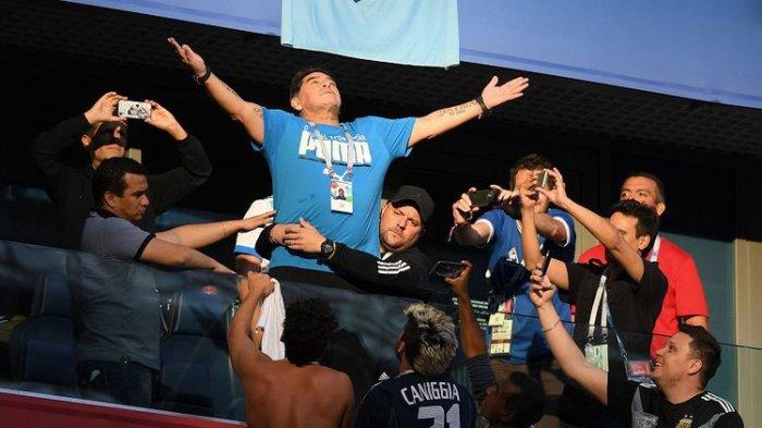 Maradona Janjikan Hadiah Rp 150 Juta untuk Cari Penyebar Kabar Kematiannya