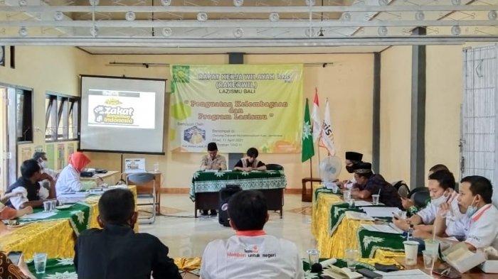 Sambut Bulan Ramadhan 2021, Lazismu Bali Gelar Rapat Kerja Wilayah di Jembrana Bali