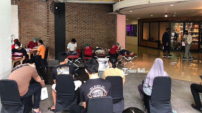Hari Palang Merah Nasional, Level 21 Mall Bali Gelar Donor Darah, Ada Syarat Khusus Setelah Vaksin