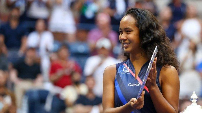 Leylah Fernandez Merasa Seperti Cinderella Seusai Final US Open