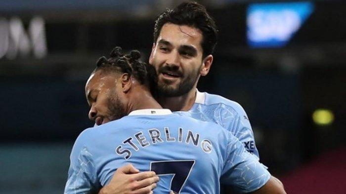 Man City Vs Crystal Palace, The Citizens Menang Telak 4-0, Geser Liverpool & Pepet Manchester United