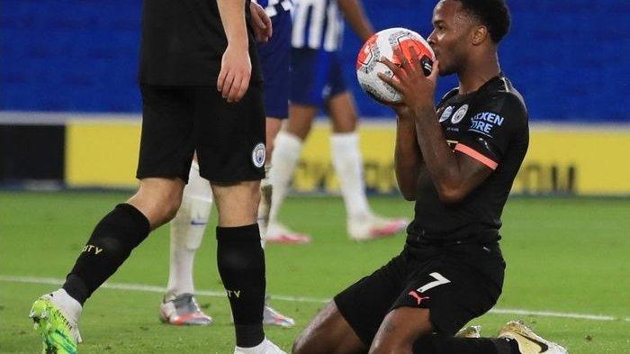 Brighton vs Man City, 5 Gol Tanpa Balas, Man City Catat 3 Prestasi, Ini Hasil Lengkap Liga Inggris